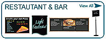 Restaurant & Bar Displays