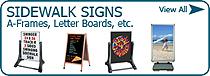 Sidewalk Signs